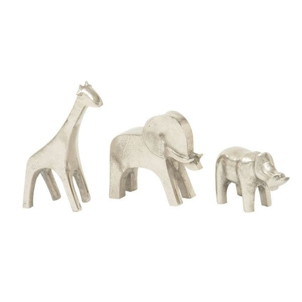 Adorablealuminum Animals (Set Of 3)