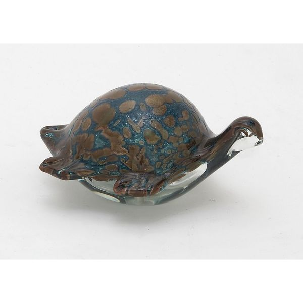 Fashionable Glass Blue Turtle 18631935