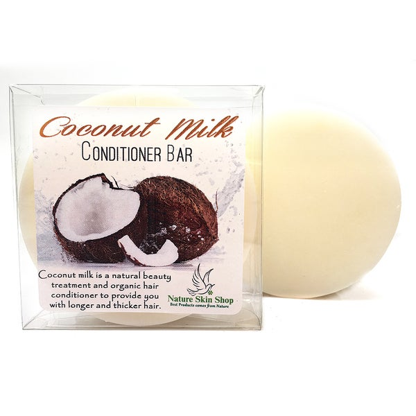 Coconut Milk Solid Bar Conditioner