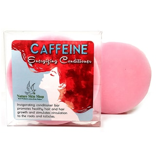 Caffeine Solid Bar Energizing Hair Conditioner For Fuller Hair and Stop Hair Loss