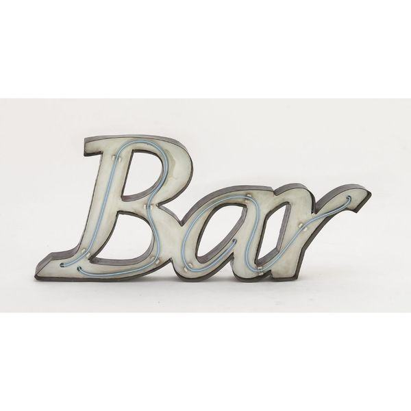 Smart Metal LED Bar Sign