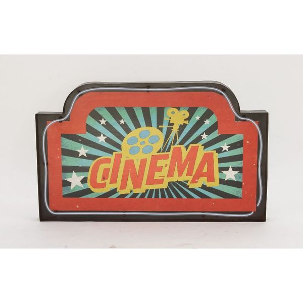 Exclusive Metal LED Cinema Sign