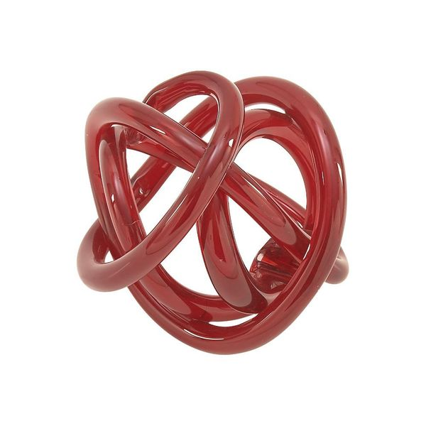 Excellent Glass Knots Red