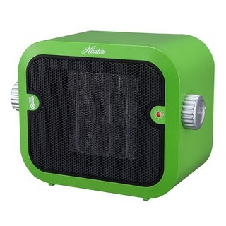 Hunter PC-003GN Green Retro Ceramic Space Heater