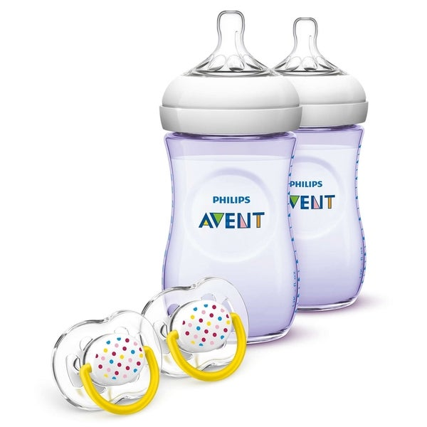 Philips Avent Natural Purple Bottle Gift Set