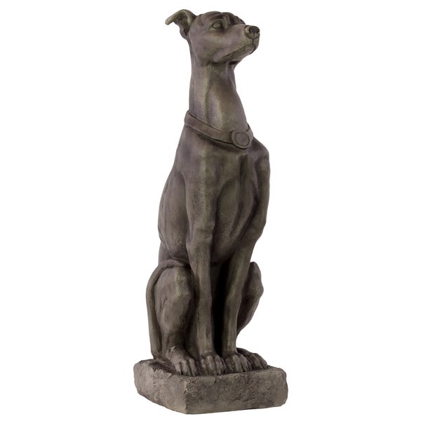Unique And Sassy Fiberstone Grey Dog