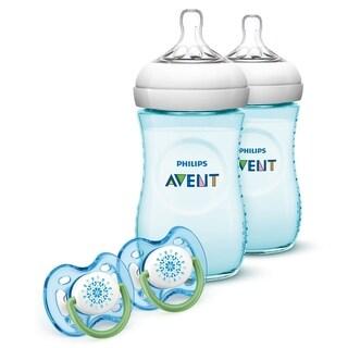 Philips Avent Teal Natural Bottle Gift Set