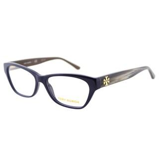 Tory Burch TY 2053 1409 Navy Coconut Plastic Cat-Eye 51mm Eyeglasses