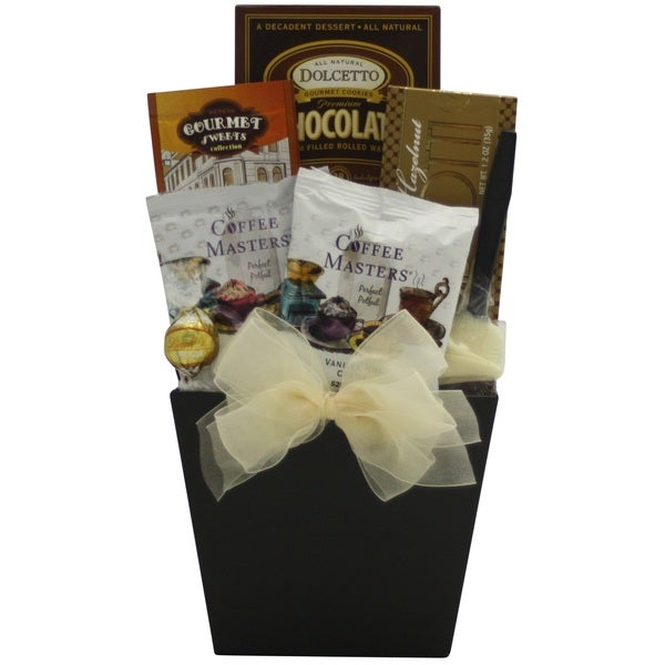 'Coffee Delights' Gourmet Coffee Gift Basket 18632918
