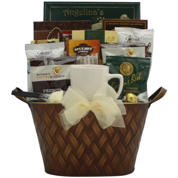 'Coffee Connoisseur' Gourmet Coffee Gift Basket 18633004