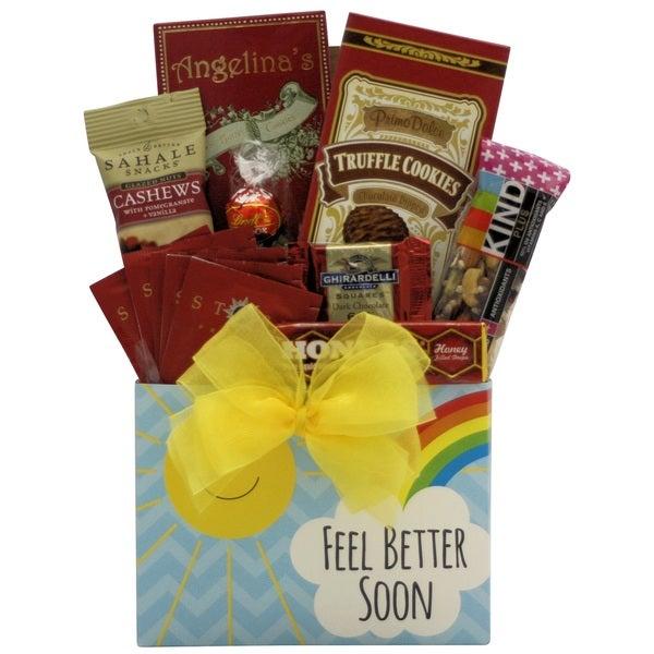 Feel Better Soon: Get Well Gift Basket 18633292