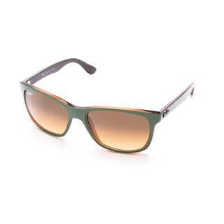 Ray-Ban Green/Olive/Brown Square Sunglasses 0RB4181 613785 57