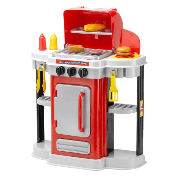 My First Grillin Red BBQ Toy Grill 18633970