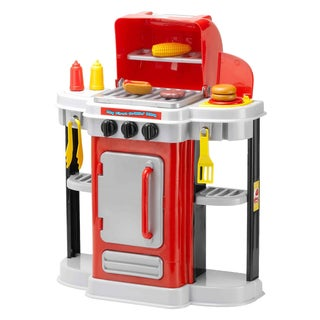 My First Grillin Red BBQ Toy Grill