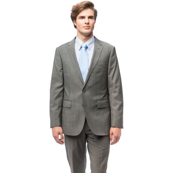 Men's Wool Slim Fit Suit