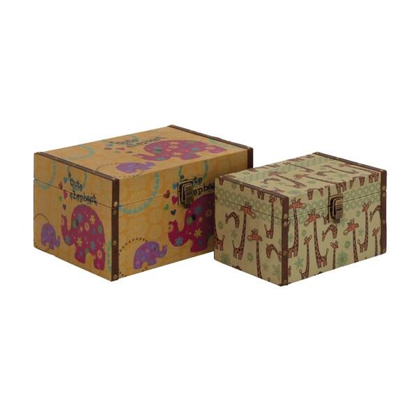 Wonderful Styled Wood Canvas Box