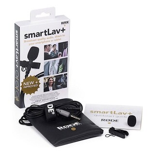 Rode smartLav+ Lavalier Microphone for iPhone and Smartphones