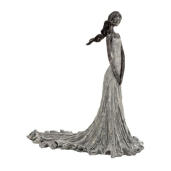 Artistic Adorable Polystone Female Figure 18634607