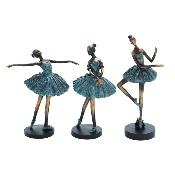 (Set Of 3) Ballerina Figurines