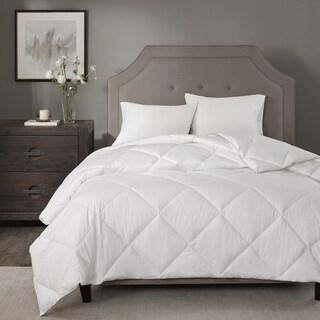 Madison Park Signature 1000 Thread Count Cotton Blend White Down Alternative Comforter