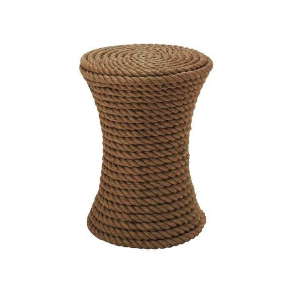 Afghan Twine Coffee Stool