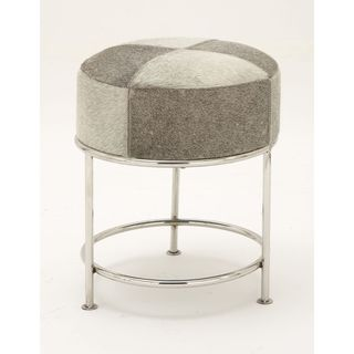 Adorable Stainless Steel Leather Rd Hide Stool
