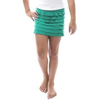 Soho Kids One Size Cotton Ruffled Back to School Skirt