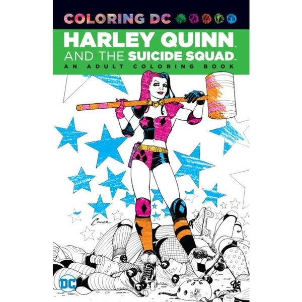 Harley Quinn and the Suicide Squad Adult Coloring Book: An Adult Coloring Book (Paperback) 18639454