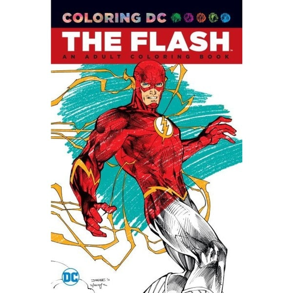 The Flash Adult Coloring Book: An Adult Coloring Book (Paperback) 18639455