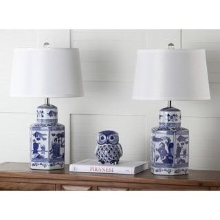 "Safavieh Lighting 23-inch Judy Table Lamp (Set of 2) - 14""x14""x23.5"""