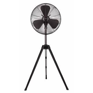 Hunter 16-inch Onyx Copper Retro Tripod Stand Fan with Black Finish
