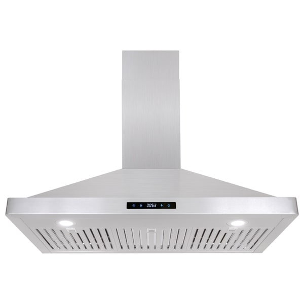 Cosmo 36-inch Range Hood 760 CFM Ducted Wall Mount in Stainless Steel - STAINLESS STEEL 18640927