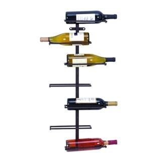 Modern Hangable Wine Rack With 7 Horizontal Slots