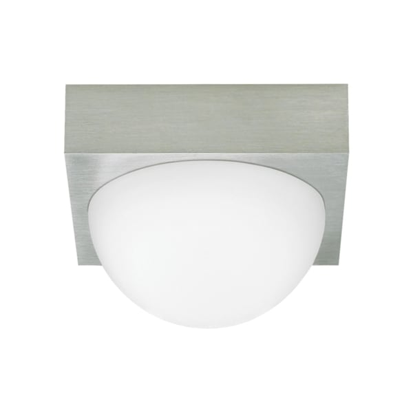 LBL Sphere 1-light Satin Nickel Ceiling