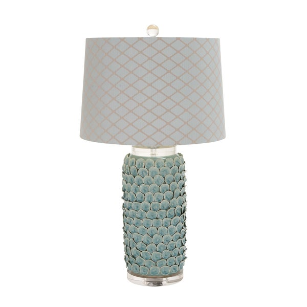 The Matchless Ceramic Acrylic Table Lamp