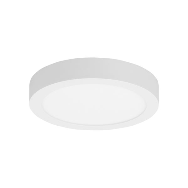 LBL Tenur Round 10 1 Light White Ceiling