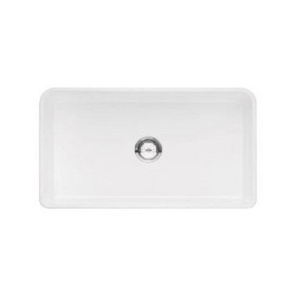 Blanco Cerana White Fireclay 30-inch Apron-front Sink - 18737109 ...