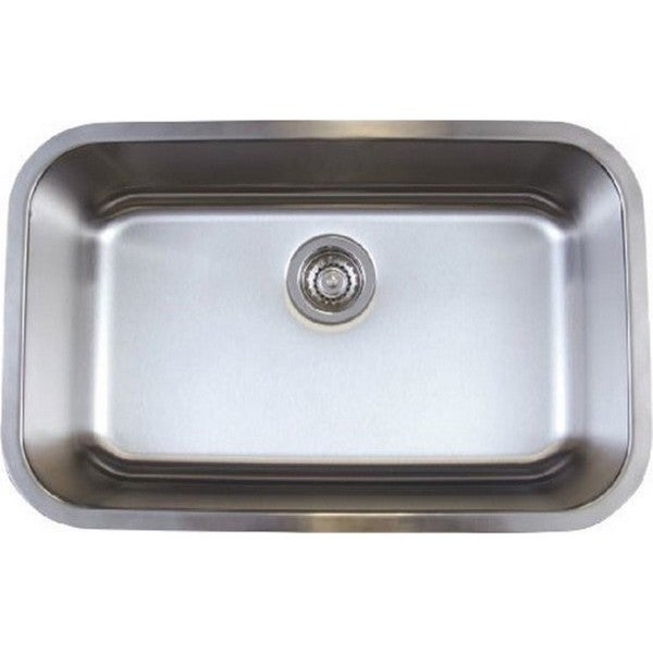Blanco Stellar Stainless Steel Medium-size Single-bowl Kitchen Sink
