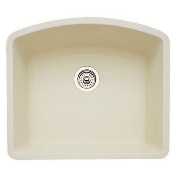 Blanco Diamond Silgranit II Biscuit Granite Single-bowl Kitchen Sink