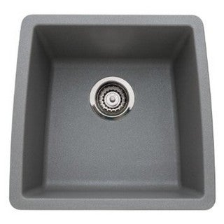 Blanco Performa Silgranit II Metallic Gray Single Bowl
