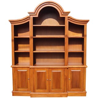 D-Art Arch Top Honey Bookcase (Indonesia)