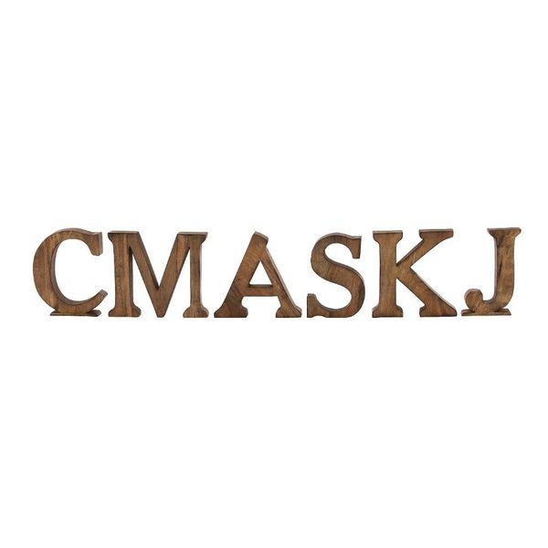 Classy Wood Letters Set