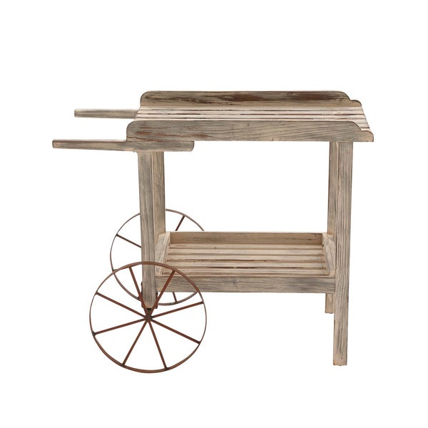 The Magical Wood Metal Handcart