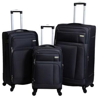 Hytech Ivy 3-piece Lightweight Spinner Luggage Set