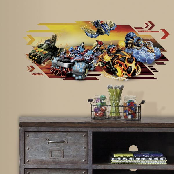 Skylanders Superchargers Giant Peel and Stick Wall Graphic 18642534