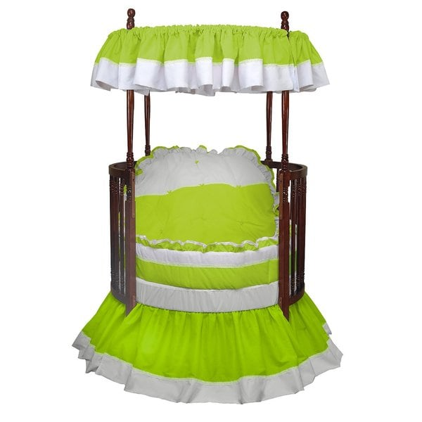 Baby Doll Regal Round Crib Bedding