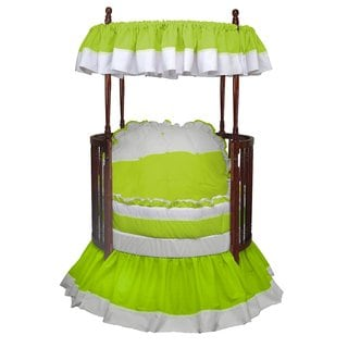 Baby Doll Regal Round Crib Bedding