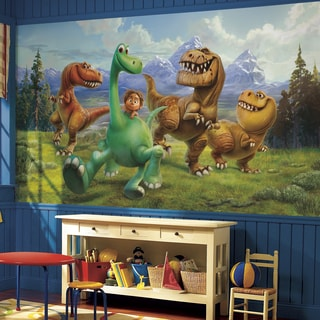 The Good Dinosaur XL Ultra-strippable 6-foot x 10-foot-6 inch Prepasted Chair Rail
