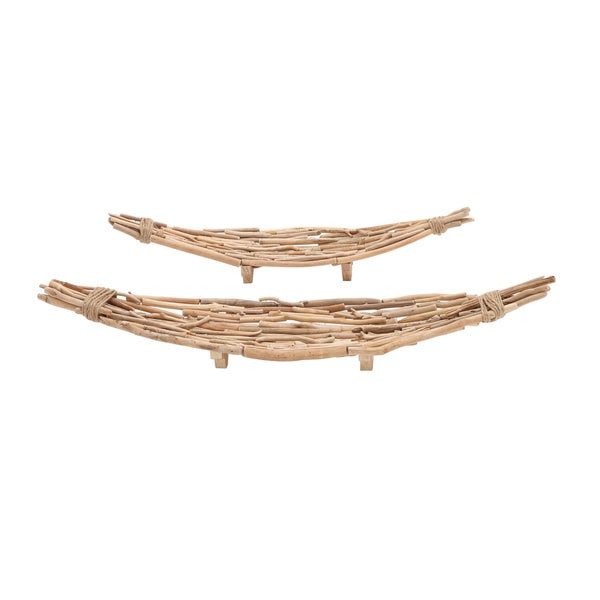 The Extraordinary (Set Of 2) Driftwood Plate