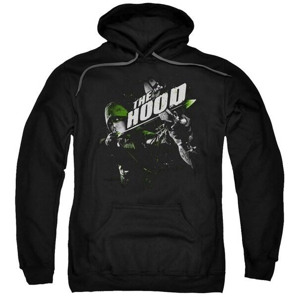 Adult Arrow/Take Aim Black Pullover Hoodie